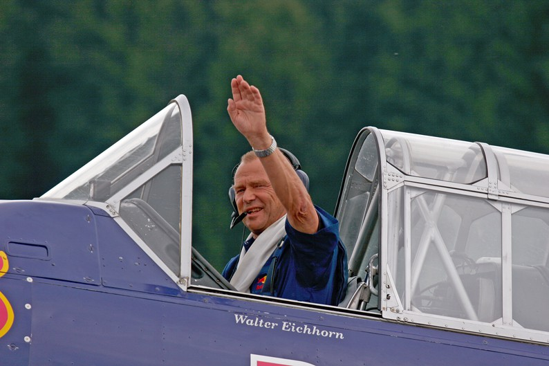 Alte Liebe rostet nie: Walter Eichhorn und seine T6