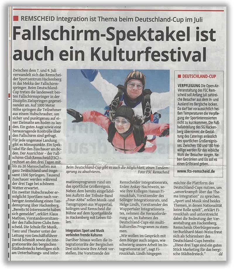 Spektakel des FSC ist auch ein Kulturfestival