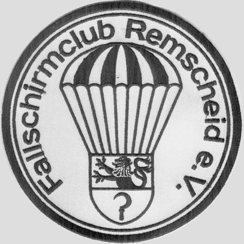 FSC Remscheid-Aufnäher im Durchmesser von 13cm.