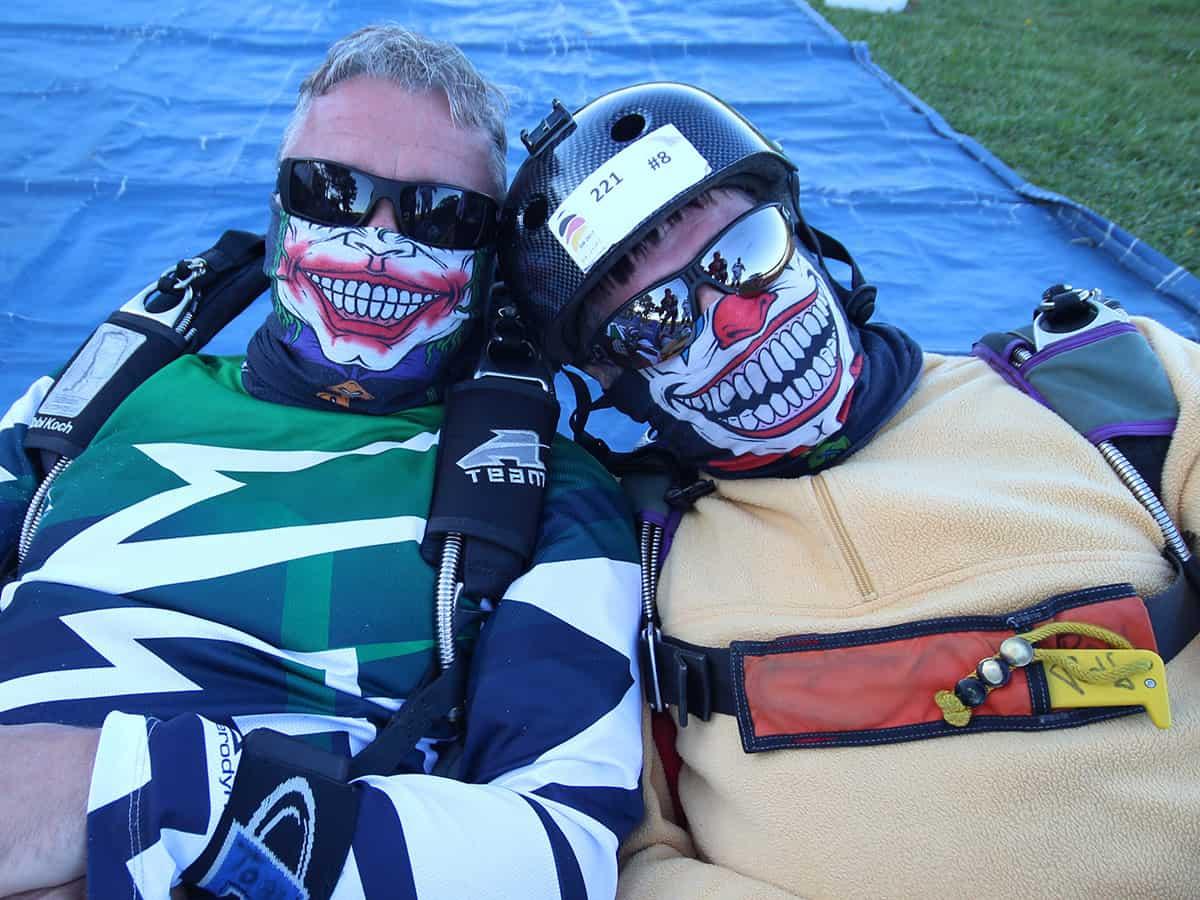 Unsere beiden Joker, Tobi und Ralf bereichern das Team 2018