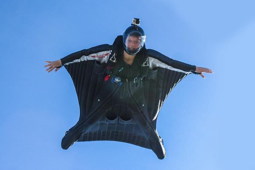 Wingsuitflug