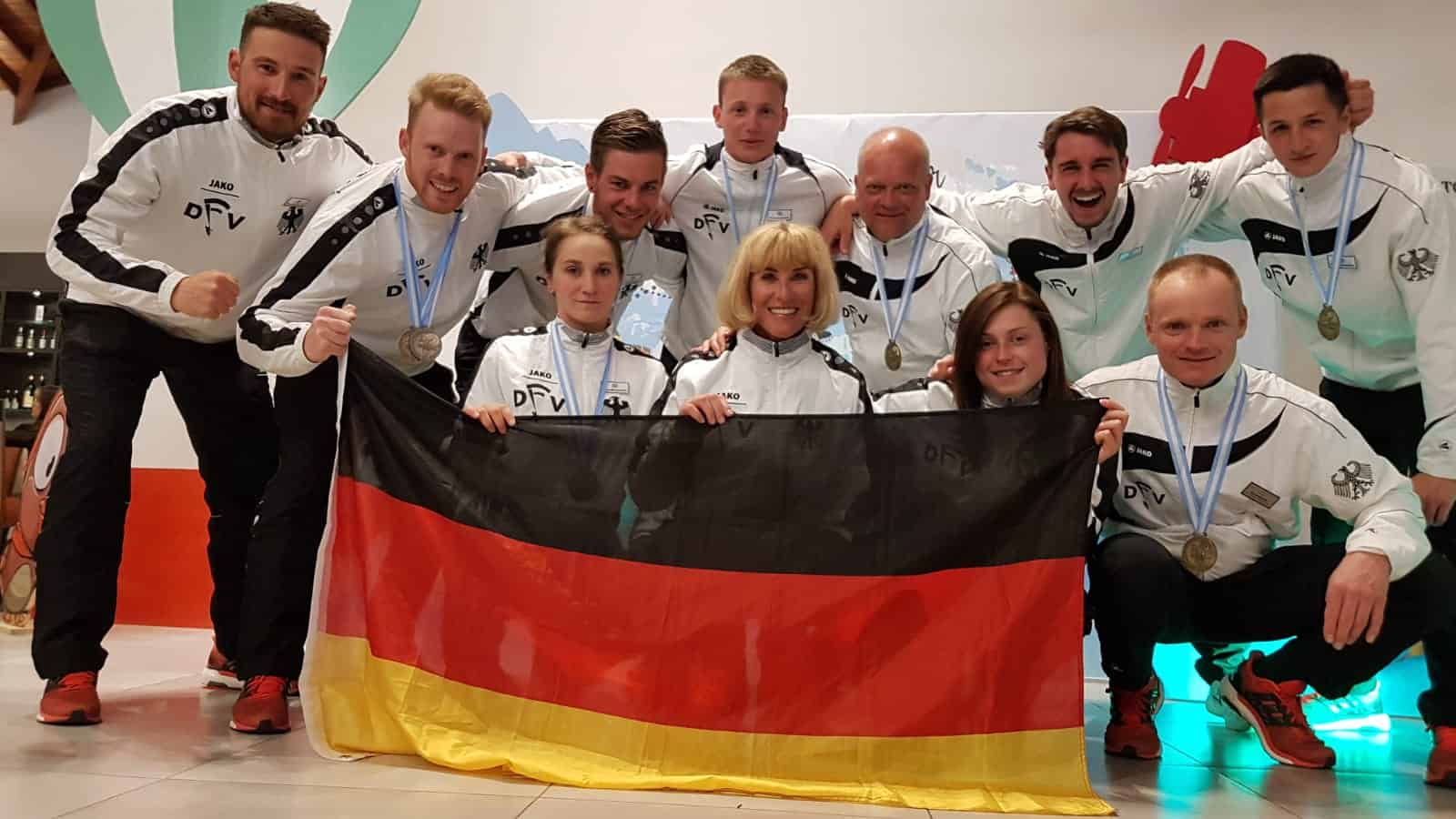 Das Deutsche Nationalteam beim World Cup in Cordoba Argentinien