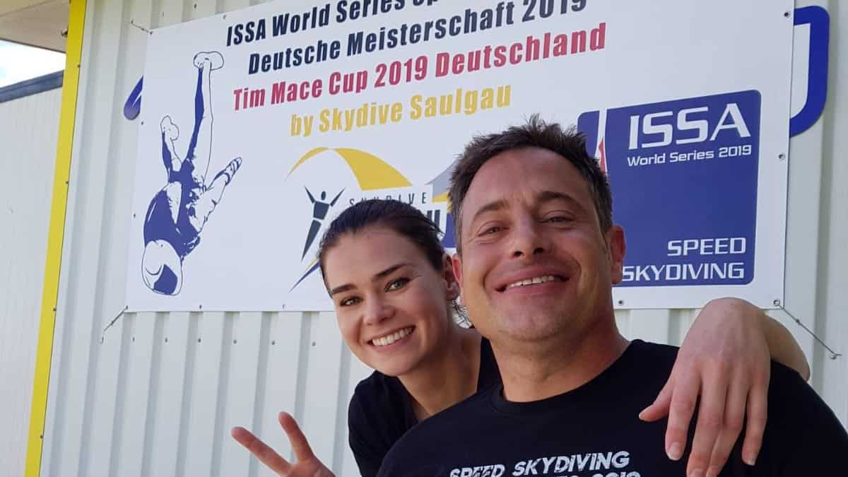 Lucia Lippold und Moritz Friess auf der Deutschen Meisterschaft in Saulgau
