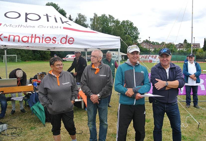 Die Schiedsrichter der Deutschen Meisterschaft in Uslar.