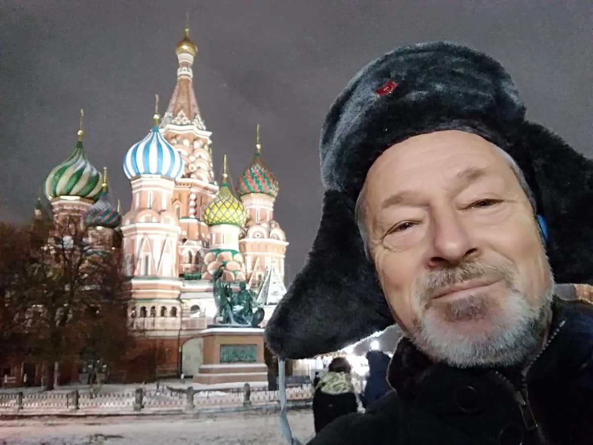 FSC Mitglied Peter A. Pfalzgraf in Moskau zur Unterstützung der sportlichen Disziplinen für die Weltmeisterschaft ist auch Mitglied im Vorstand der FAI.