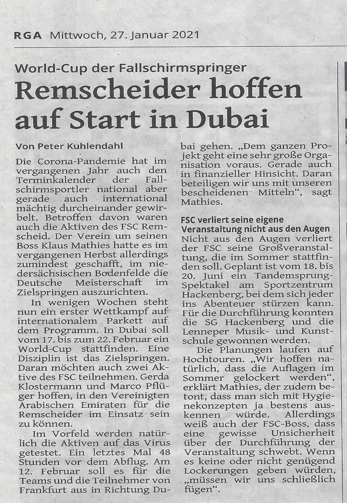 2021.01.27 Remscheider Generalanzeiger-2